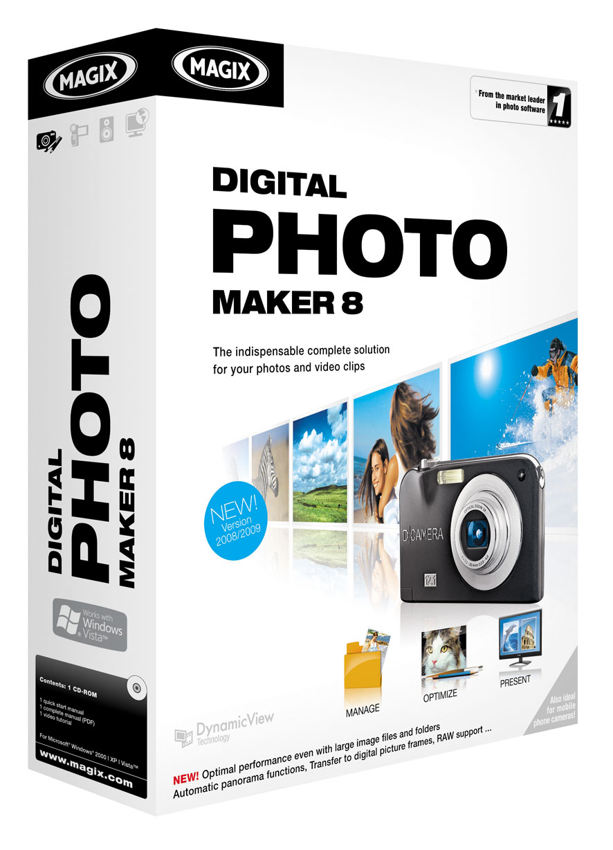 MAGIX Digital Photo Maker 8 Download version