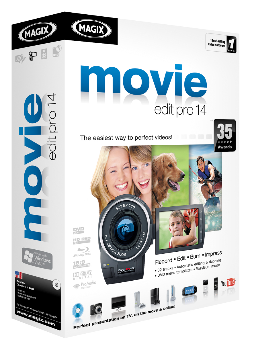 MAGIX Movie Edit Pro 14