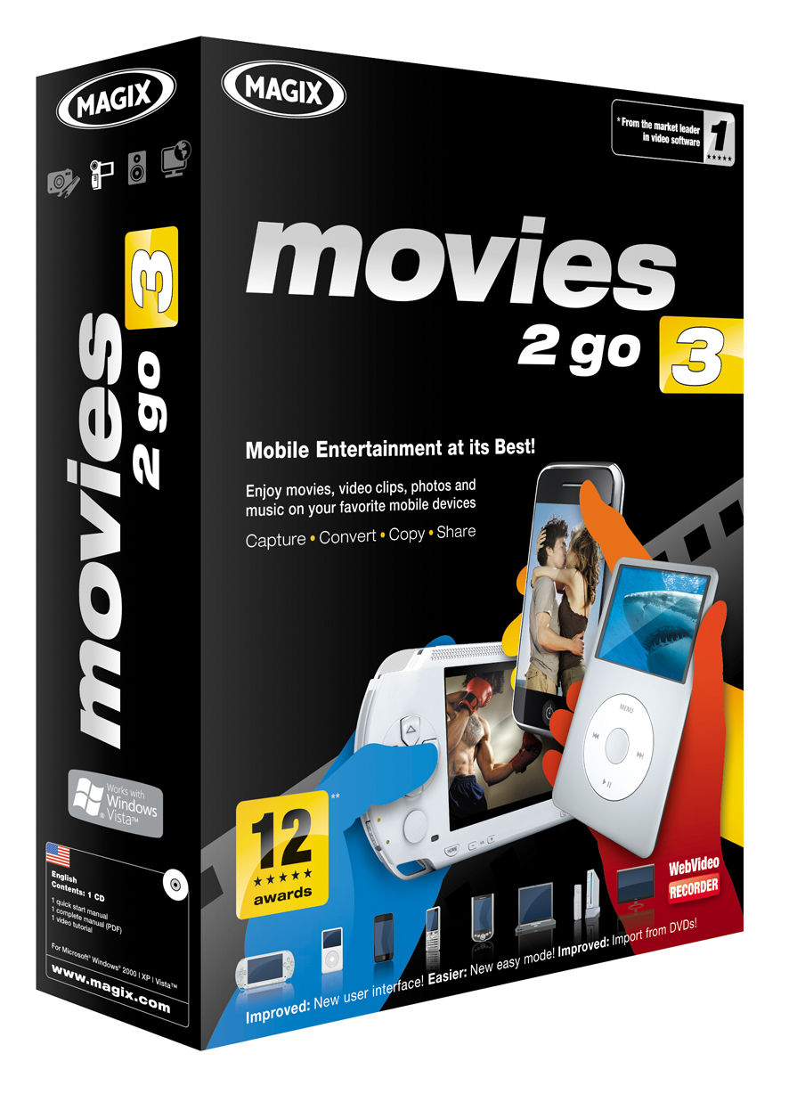 MAGIX Movies 2go 3 Download version