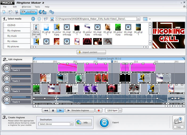 MAGIX Ringtone Maker 3 full