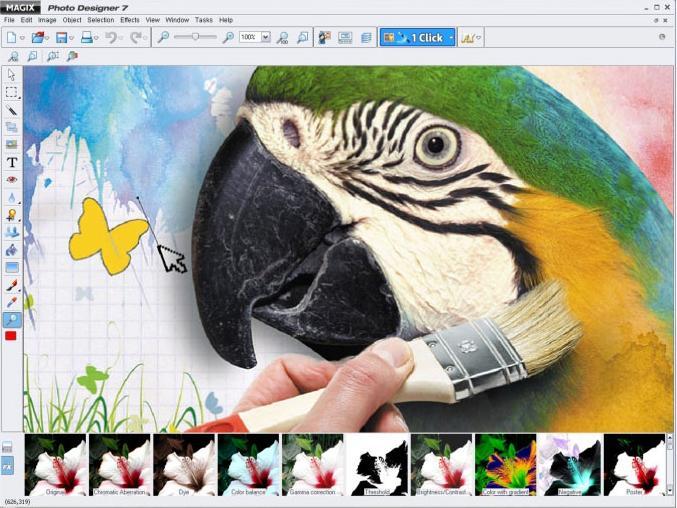 Windows 7 MAGIX Photo Designer 7 full