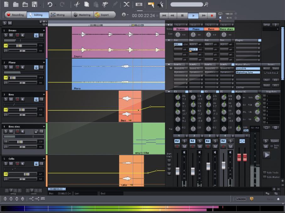 MAGIX Samplitude Producer 11.5 full