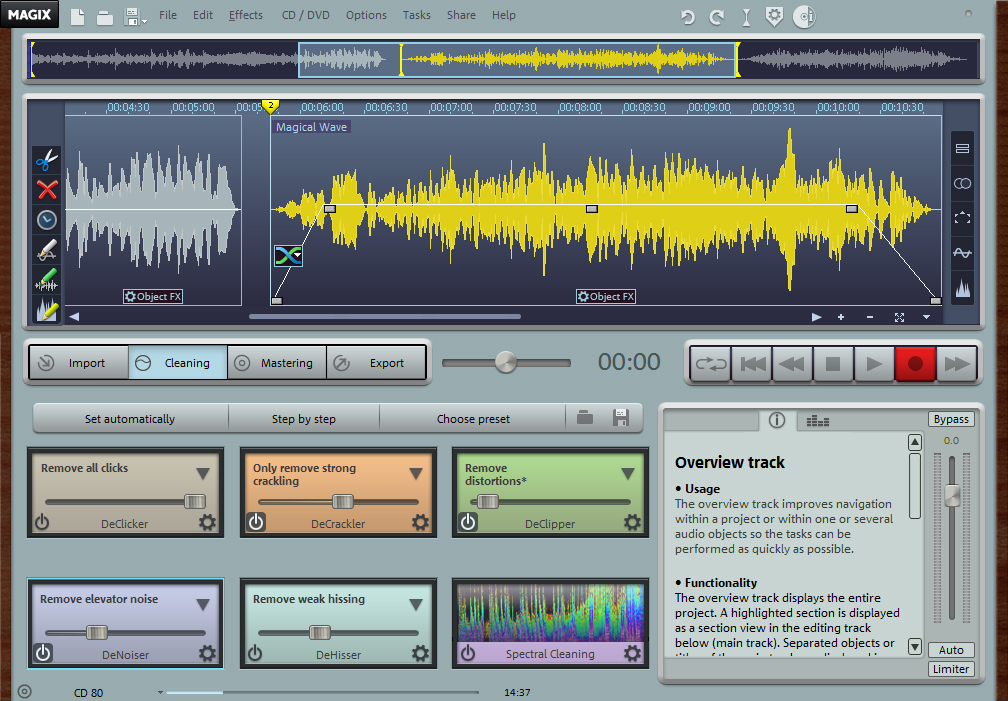 MAGIX Audio Cleaning Lab MX full