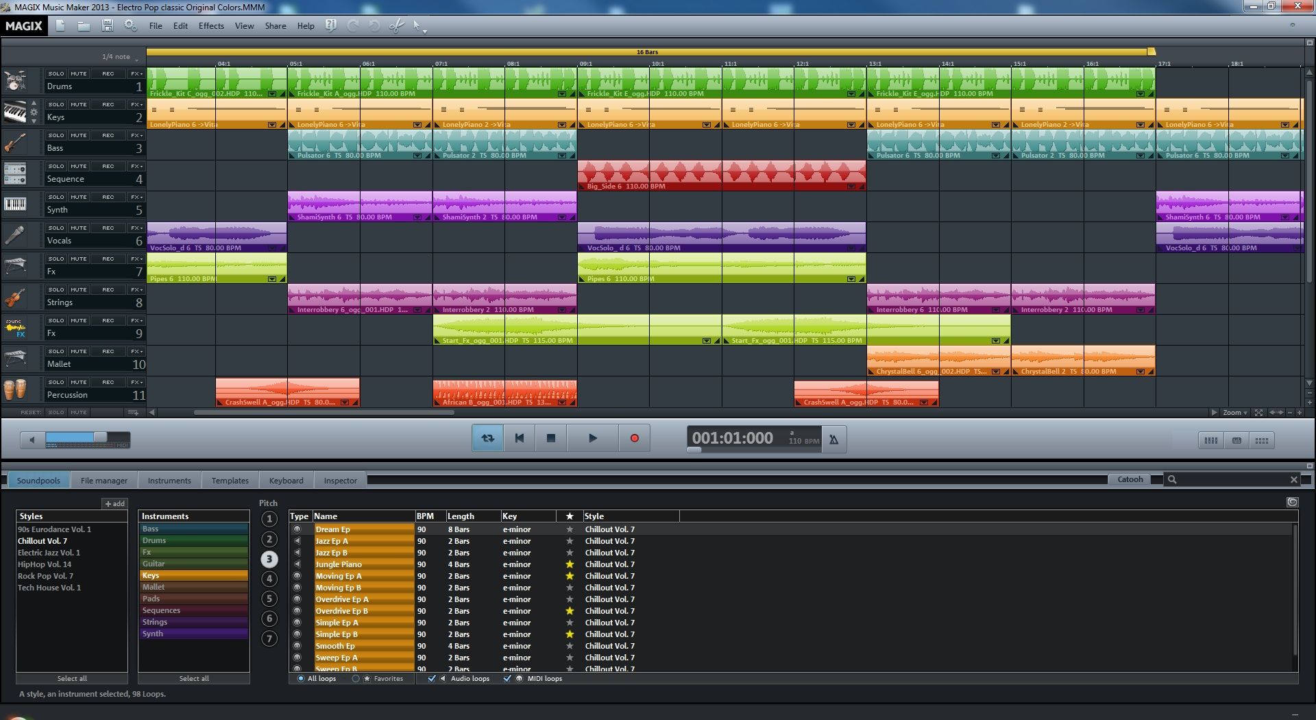 MAGIX Music Maker 2013 full